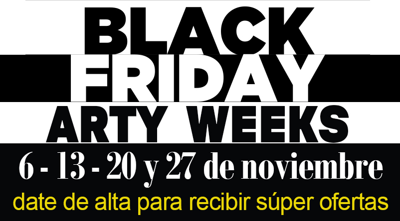 ARTY BLACK WEEK