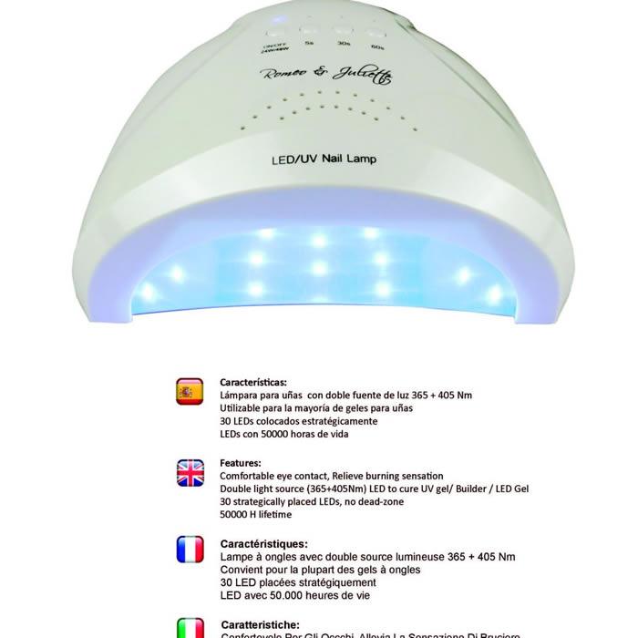 LAMPARA LED/UVA 24-48W
